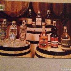 Postales: COMERCIAL GALLEMI S.A. VILLAFRANCA DEL PENEDÉS. VINOS Y LICORES. Lote 221399982