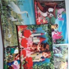 Postales: LOTE DE 5 POSTALES JACOMETREZO MADRID 3 D. Lote 221614311