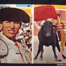 Postales: POSTAL FOTOS CARRETERO MANUEL BENITEZ EL CORDOBES LEER DESCRIPCION. Lote 221713255
