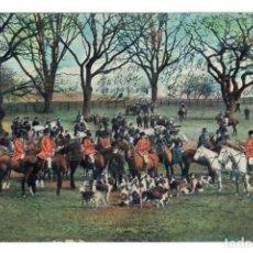 Postales: CACERIA DEL ZORRO (1907). Lote 221840761