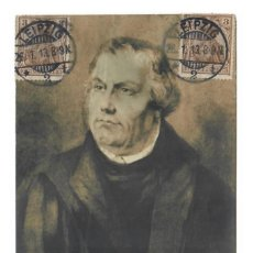 Postales: MARTIN LUTERO - MARTIN LUTHER (1913). Lote 221841646