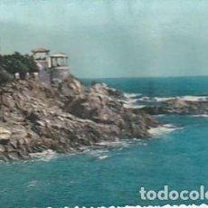 Postales: ANTIGUA POSTAL EN RELIEVE DE S. AGARO EN LA COSTA BRAVA. AÑOS SESENTA. LLOPIS.. Lote 222111517