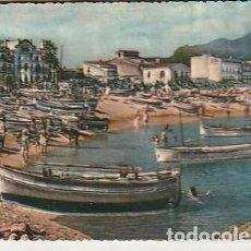 Postales: ANTIGUA POSTAL EN RELIEVE DE TOSSA DE MAR EN LA COSTA BRAVA. AÑOS SESENTA. LLOPIS.. Lote 222112486