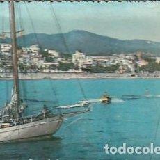 Postales: ANTIGUA POSTAL EN RELIEVE DE SAN FELIU DE GUISOLS EN LA COSTA BRAVA. AÑOS SESENTA. LLOPIS.. Lote 222112760