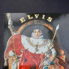 Postales: POSTAL ELVIS PRESLEY THE KING NUGERON ILLUSTRATEURS N WILSON H282 576. Lote 222158810