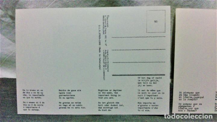 Postales: LOTE DE 21 POSTALES DISEÑADAS POR SALVADÓ.AÑOS 70 Y 80.SIN ESCRIBIR.IMP ELITE-GRAFIC Y OTROS - Foto 4 - 222463170
