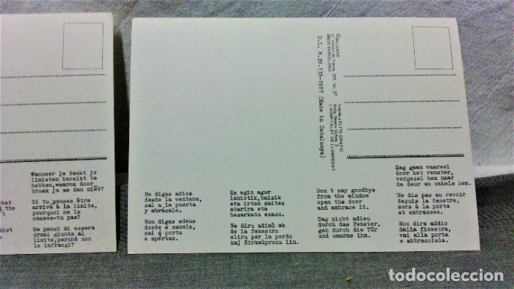 Postales: LOTE DE 21 POSTALES DISEÑADAS POR SALVADÓ.AÑOS 70 Y 80.SIN ESCRIBIR.IMP ELITE-GRAFIC Y OTROS - Foto 5 - 222463170