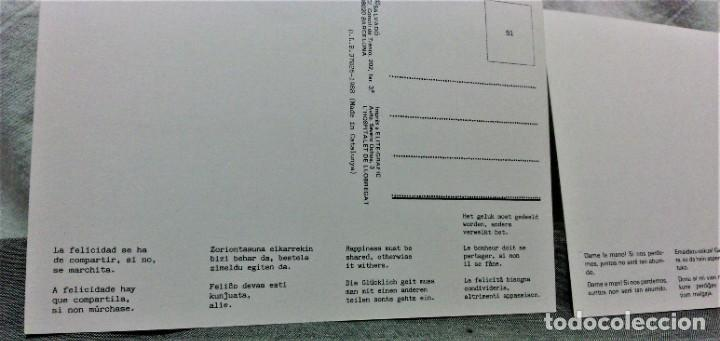 Postales: LOTE DE 21 POSTALES DISEÑADAS POR SALVADÓ.AÑOS 70 Y 80.NO ESCRITAS.IMP ELITE-GRAFIC Y LIPSIA - Foto 6 - 222463533
