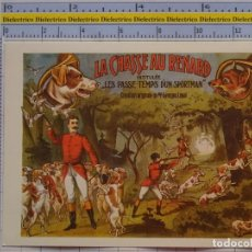 Postales: POSTAL DE CIRCO. CARTEL RETRO VINTAGE 1910 GEORG LOYAL DOMADOR PERROS 1090. Lote 222500738