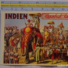 Postales: POSTAL DE CIRCO. CIRCO HAGENBECK. ESPECIALIDAD ANIMALES EXÓTICOS INDIA.1099. Lote 222501181