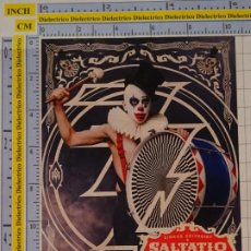 Postales: POSTAL DE CIRCO. PAYASO SALTATIC MORTIS LIVE. 1100. Lote 222501273