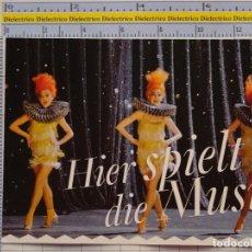 Postales: POSTAL DE CIRCO. ÓPERA CÓMICA EN BERLÍN. CABARETERAS. 1101. Lote 222501348