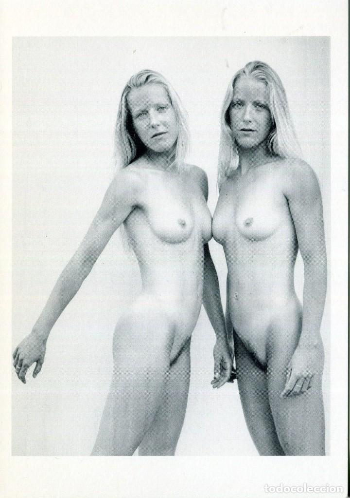 DESNUDO JÓVENES MELLIZAS- FOTO 2001 (Postales - Postales Temáticas - Especiales)