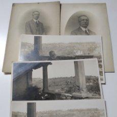 Postales: 5 POSTALES ANTIGUAS AÑO 1919.SIN CIRCULAR .PERSONAJE CATALÁN DE LA ÉPOCA DE MANUEL LLOPIS. Lote 228353210