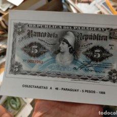 Postales: OFERTAS X LOTES COLECTARJETAS S.A POSTAL NUMISMASTICA BILLETE SIN CIRCULAR EUROHOBBY MUY BUEN ESTADO. Lote 232051340