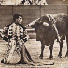 Postales: MATADOR DE TOROS, TORERO DAMASO GOMEZ. ED. ZERKOWITZ. SIN CIRCULAR. Lote 234724595
