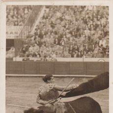 Postales: MATADOR DE TOROS, TORERO JULIAN MARIN. NACIO EN TUDELA NAVARRA EN 1919. Lote 234726165