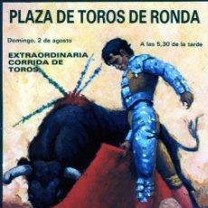 Postales: POSTALES MEDIDAS 21 X 10.50 SOBRE CORRIDA DE TOROS EN DIFERENTES LOCALIDADES DE ESPAÑA .. Lote 235261010