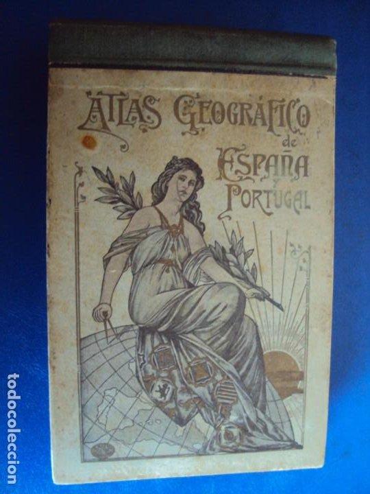 (RE-210100)LOTE DE 58 POSTALES DE PROVINCIAS DE ESPAÑA Y PORTUGAL, AÑOS 20S. ATLAS GEOGRAFICO. (Postales - Postales Temáticas - Especiales)