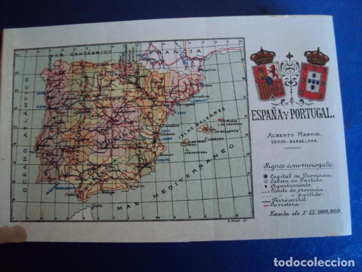 Postales: (RE-210100)Lote de 58 postales de provincias de españa y portugal, años 20s. atlas geografico. - Foto 2 - 236381415