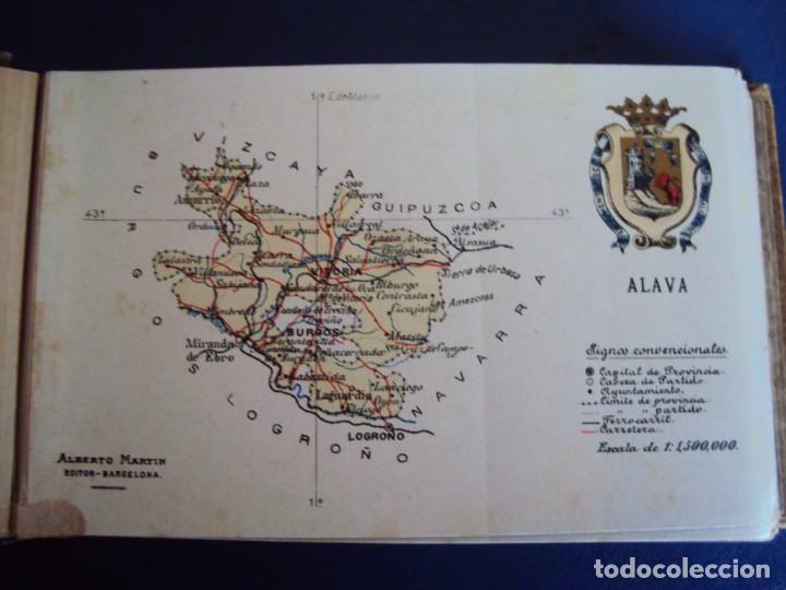Postales: (RE-210100)Lote de 58 postales de provincias de españa y portugal, años 20s. atlas geografico. - Foto 3 - 236381415