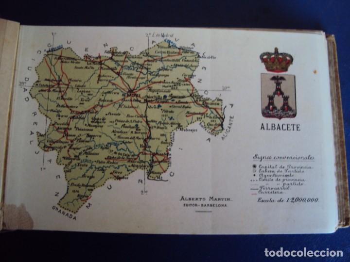 Postales: (RE-210100)Lote de 58 postales de provincias de españa y portugal, años 20s. atlas geografico. - Foto 4 - 236381415