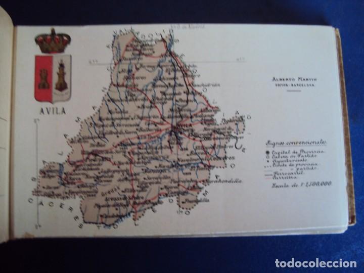 Postales: (RE-210100)Lote de 58 postales de provincias de españa y portugal, años 20s. atlas geografico. - Foto 7 - 236381415