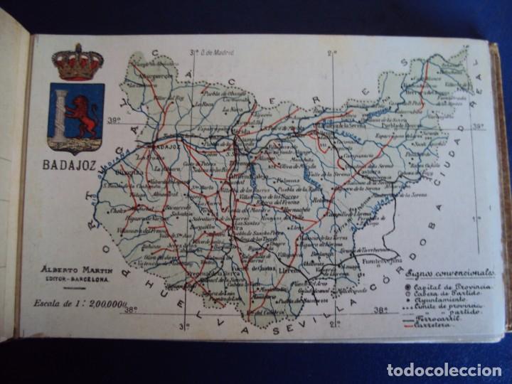 Postales: (RE-210100)Lote de 58 postales de provincias de españa y portugal, años 20s. atlas geografico. - Foto 8 - 236381415