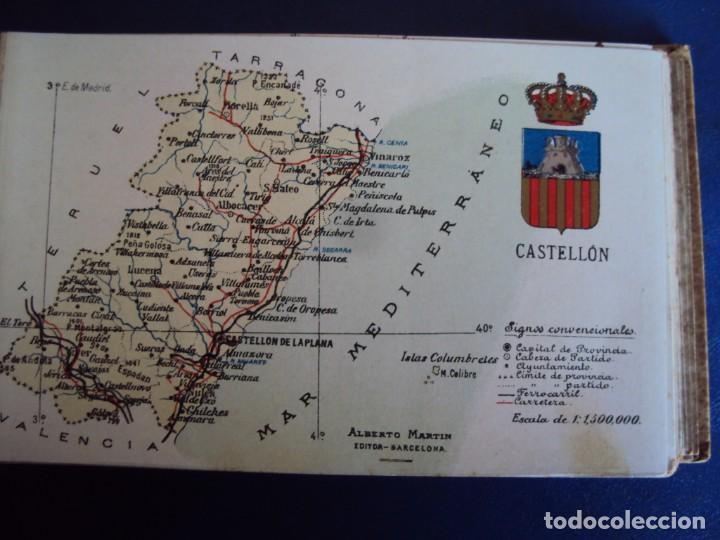 Postales: (RE-210100)Lote de 58 postales de provincias de españa y portugal, años 20s. atlas geografico. - Foto 12 - 236381415