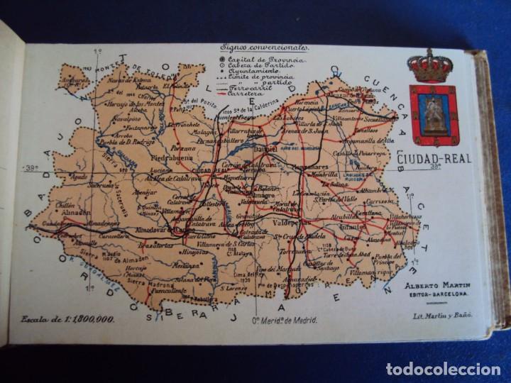 Postales: (RE-210100)Lote de 58 postales de provincias de españa y portugal, años 20s. atlas geografico. - Foto 13 - 236381415