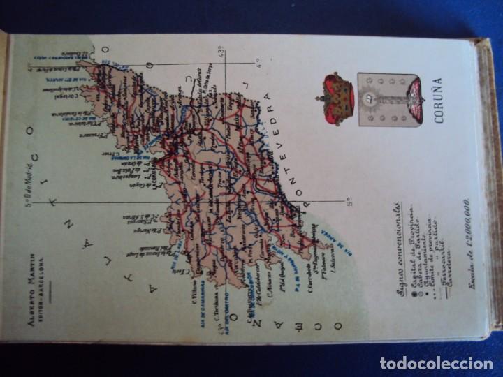 Postales: (RE-210100)Lote de 58 postales de provincias de españa y portugal, años 20s. atlas geografico. - Foto 15 - 236381415