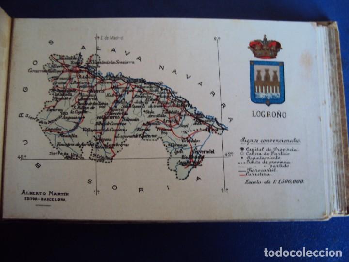 Postales: (RE-210100)Lote de 58 postales de provincias de españa y portugal, años 20s. atlas geografico. - Foto 26 - 236381415