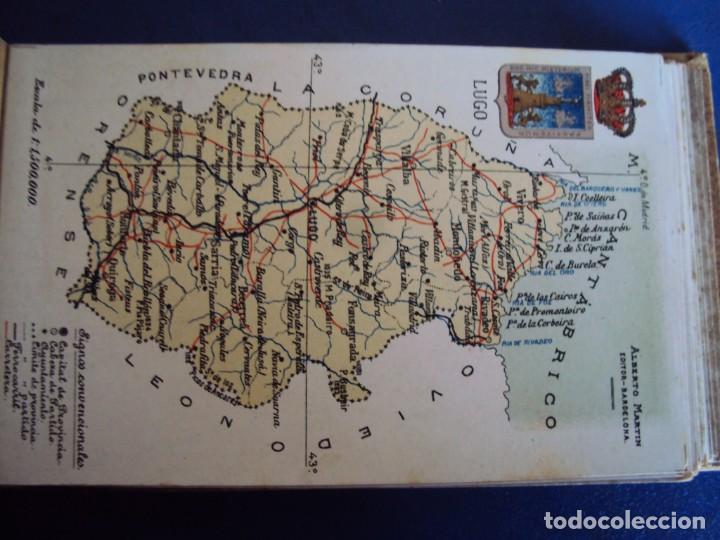 Postales: (RE-210100)Lote de 58 postales de provincias de españa y portugal, años 20s. atlas geografico. - Foto 27 - 236381415