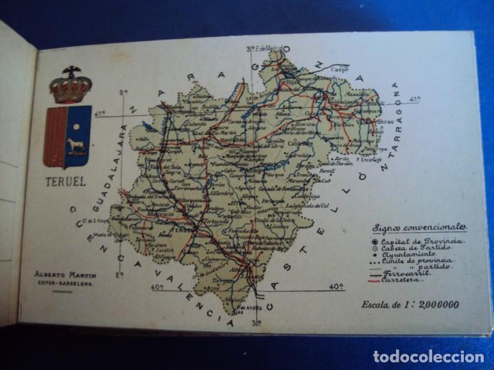 Postales: (RE-210100)Lote de 58 postales de provincias de españa y portugal, años 20s. atlas geografico. - Foto 42 - 236381415