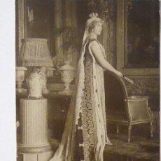Postales: P-12176. LA REINA VICTORIA EUGENIA DE BATTENBERG. FAMILIA REAL ESPAÑOLA. NO CIRCULADA. AÑO 1921.. Lote 240270720