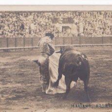 Postales: MATADOR DE TOROS, TORERO MARIANO RODRIGUEZ, NACIO EN SEVILLA EN 1906. FOTOGRAFICA. Lote 243444230