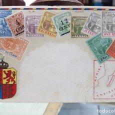 Postales: ANTIGUA POSTAL SELLOS ISLAS MAURICIO 1947. Lote 243771510