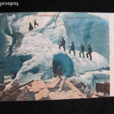 Postales: GLACIAR SUPERIOR DE GRINDELWALD-POSTAL ANTIGUA-VER FOTOS-(77.772). Lote 244424660