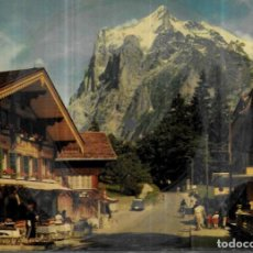 Cartes Postales: POSTAL DISCO * *SUIZA , GRINDELWALD * 1958. Lote 244582665