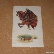 Postales: POSTAL DE CABALLOS. Lote 244853455