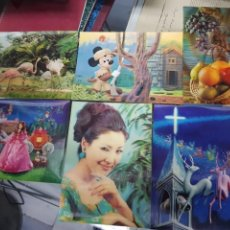 Postales: ANTIGUAS POSTALES 3 D TRIDIMENSIONALES. Lote 245263365