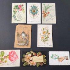 Postales: LOTE DE TARJETAS DE FELICITACIONES. Lote 251008190