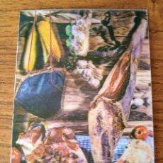 Cartoline: POSTAL TRIDIMENSIONAL, EFECTO 3D. JAMÓN. POSTALES ESCUDO DE ORO R-284. SIN CIRCULAR.. Lote 253261230