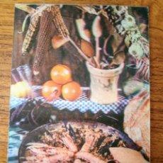 Cartoline: POSTAL TRIDIMENSIONAL, EFECTO 3D. PAELLA.POSTALES ESCUDO DE ORO R-275. SIN CIRCULAR. Lote 253264575