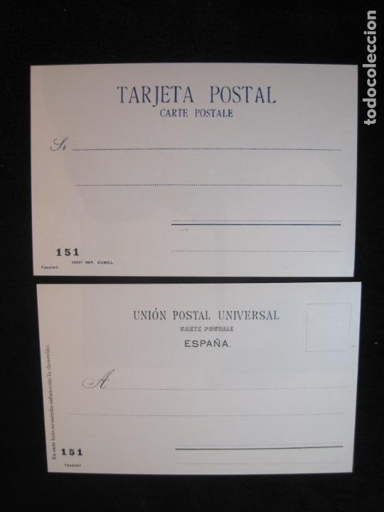 Postales: SOCIEDAD CARTOFILA HISPANIA-RAMON CASAS-RIQUER-BLOC CON 9 POSTALES REPRODUCCION-(K-2174) - Foto 11 - 253557995