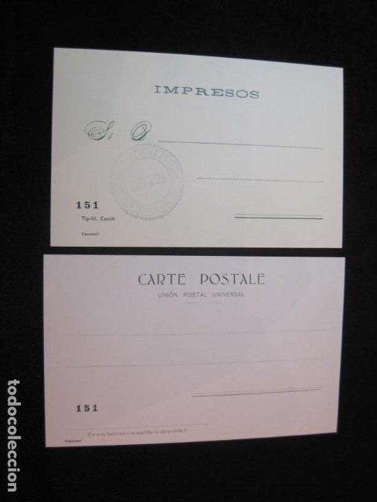 Postales: SOCIEDAD CARTOFILA HISPANIA-RAMON CASAS-RIQUER-BLOC CON 9 POSTALES REPRODUCCION-(K-2174) - Foto 13 - 253557995