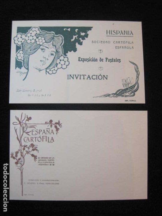 Postales: SOCIEDAD CARTOFILA HISPANIA-RAMON CASAS-RIQUER-BLOC CON 9 POSTALES REPRODUCCION-(K-2174) - Foto 14 - 253557995