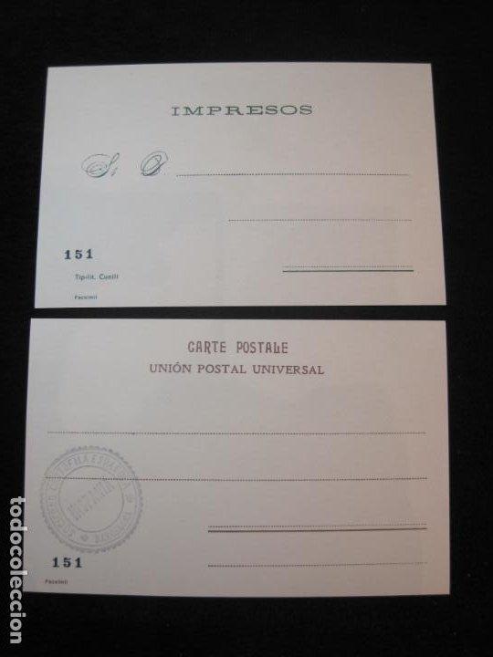 Postales: SOCIEDAD CARTOFILA HISPANIA-RAMON CASAS-RIQUER-BLOC CON 9 POSTALES REPRODUCCION-(K-2174) - Foto 15 - 253557995
