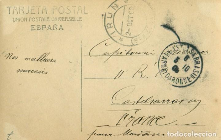 Postales: ALFONSO PRINCIPE DE ASTURIAS. CIRCULADA EN 1906 - Foto 2 - 253570065