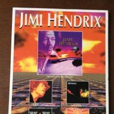 Postales: POSTAL PROMOCIONAL M80 DE JIMI HENDRIX FIRST RAYS OF THE NEW RISING SUN. Lote 253890230